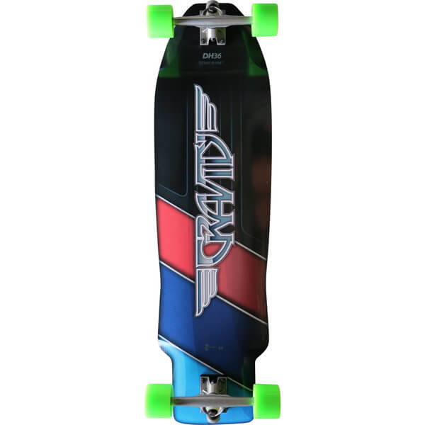 Gravity M3 Complete Downhill Longboard Skateboard