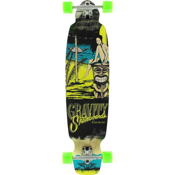 Gravity Skateboards Mini Kick Maitai Complete Longboard