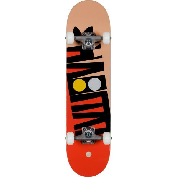 "Habitat Skateboards Artisan Apex Red Complete Skateboard - 7.75"" x 31.625"""