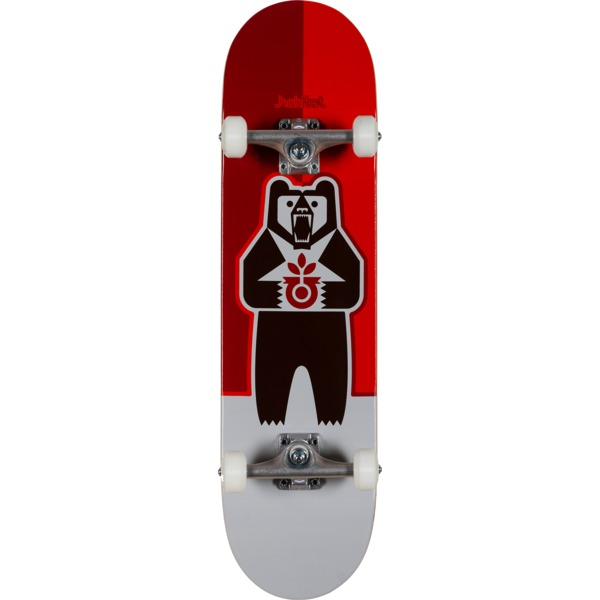 "Habitat Skateboards Grizzly Red Complete Skateboard - 8.25"" x 31.625"""