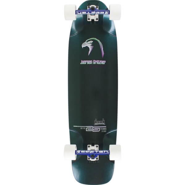 """Kebbek Skateboards Juergen Gritzner Longboard Complete Skateboard - 25th Anniversary - 9.75"""" x 38"""""""