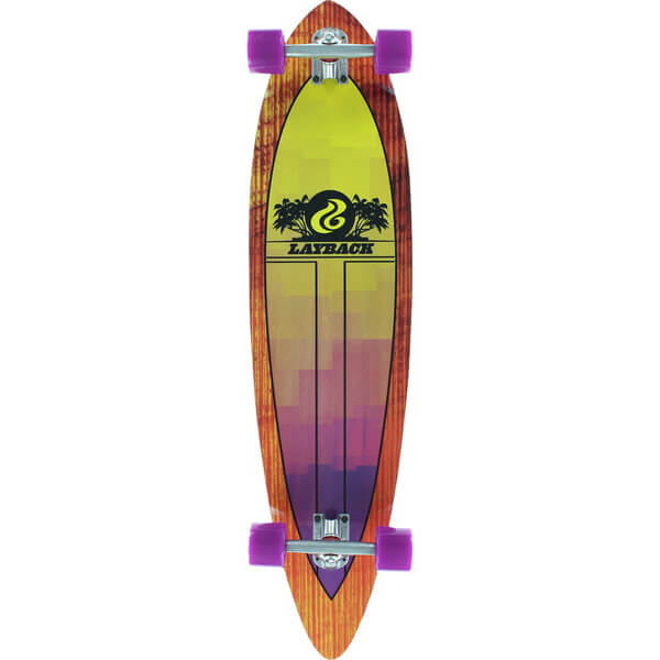 Layback Longboards Light Speed II Pintail Complete