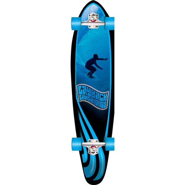 """Layback Longboards Slotted Longboard Complete Skateboard - 9.75"""" x 40"""""""