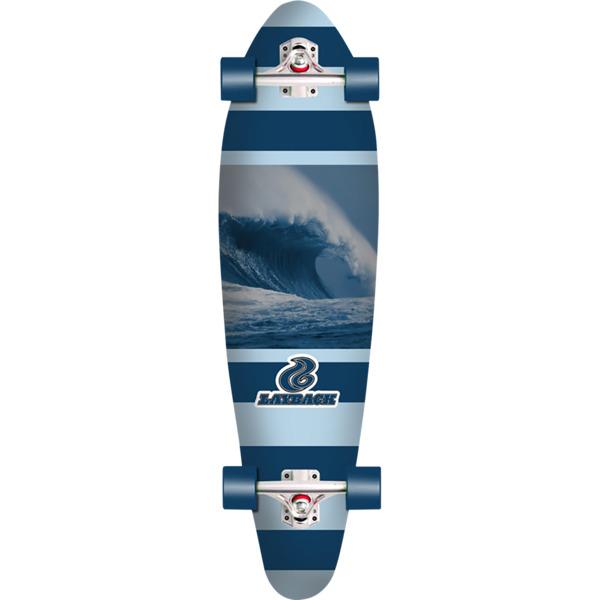 """Layback Longboards Stormchaser Longboard Complete Skateboard - 9.75"""" x 38"""""""