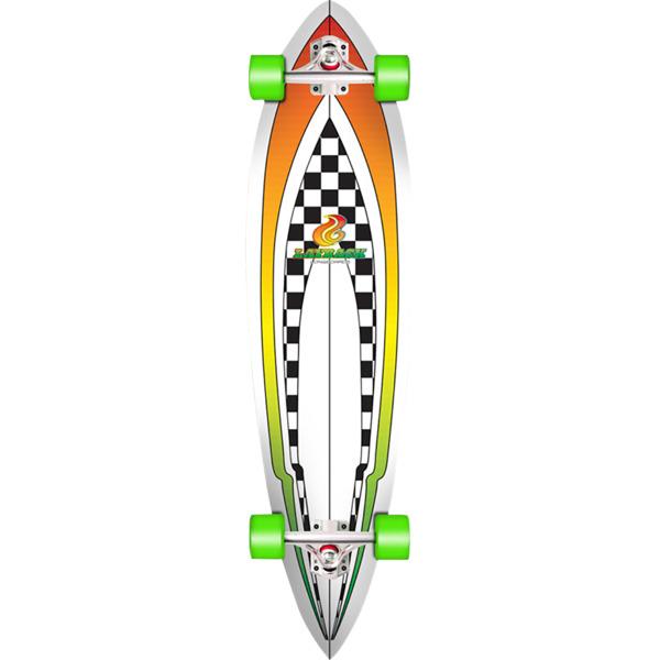 """Layback Longboards Throwback Longboard Complete Skateboard - 9.87"""" x 40"""""""