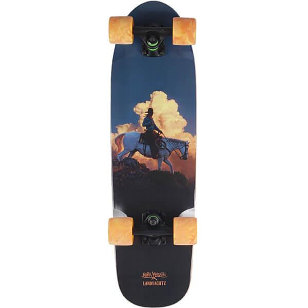 "Landyachtz Dinghy Burning Sky Cruiser Complete Skateboard - 8"" x 28.5"""