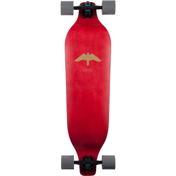 """Landyachtz Evo 35 Falcon Red Longboard Complete Skateboard - 9.5"""" x 36"""""""