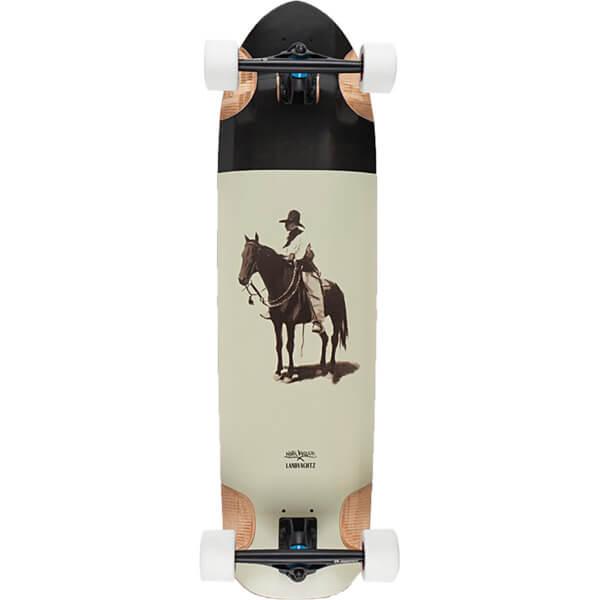 "Landyachtz Osteon Observer Longboard Complete Skateboard - 9.4"" x 35.5"""