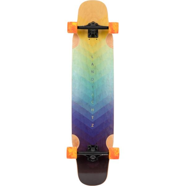 """Landyachtz Stratus 40 Faction Longboard Complete Skateboard - 9.25"""" x 40.5"""""""