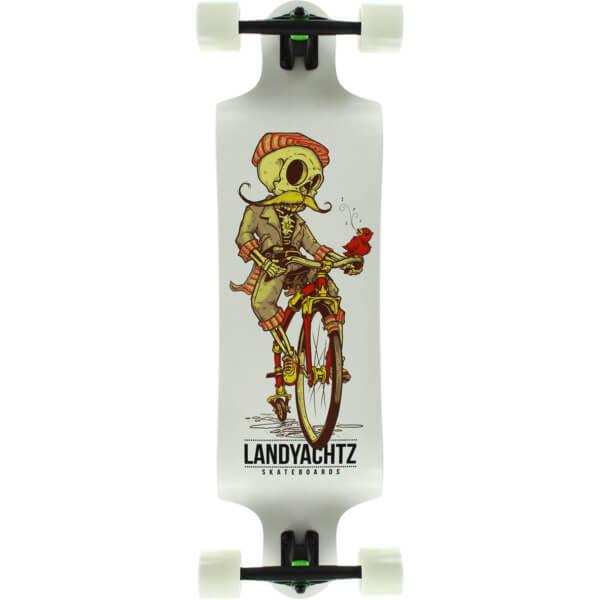Landyachtz Switch 35 Skeleton White Longboard Complete
