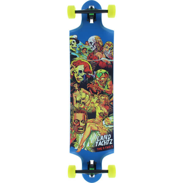 "Landyachtz Nine to Five Longboard Complete Skateboard - 9.81"" x 40.2"""
