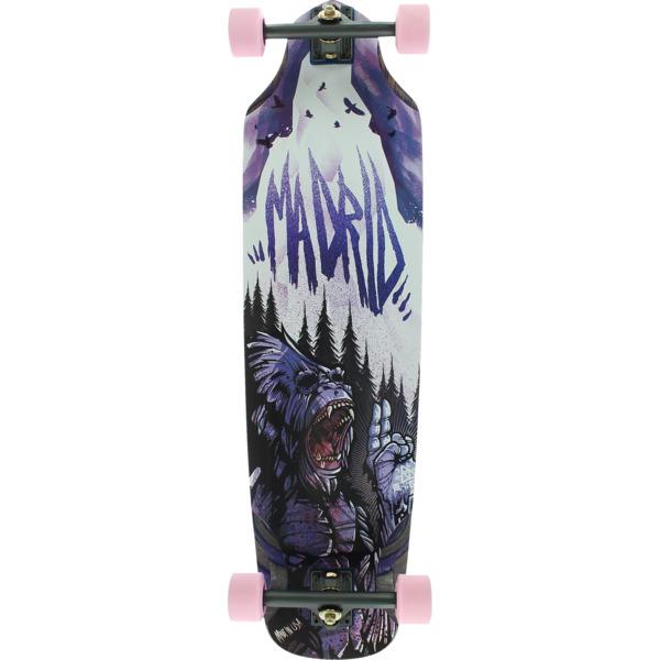 "Madrid Skateboards Bigfoot Longboard Complete Skateboard - 9.75"" x 36"""