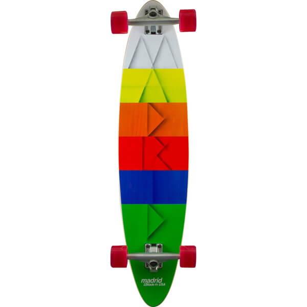 Madrid Blunt Paper Complete Longboard Skateboard