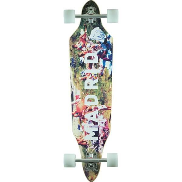 Madrid Skateboards Beach Life Creep-Shape Complete Longboard