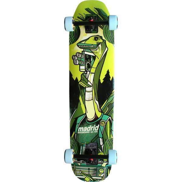 """Madrid Skateboards Nessie Longboard Complete Skateboard - 9.5"""" x 38.25"""""""
