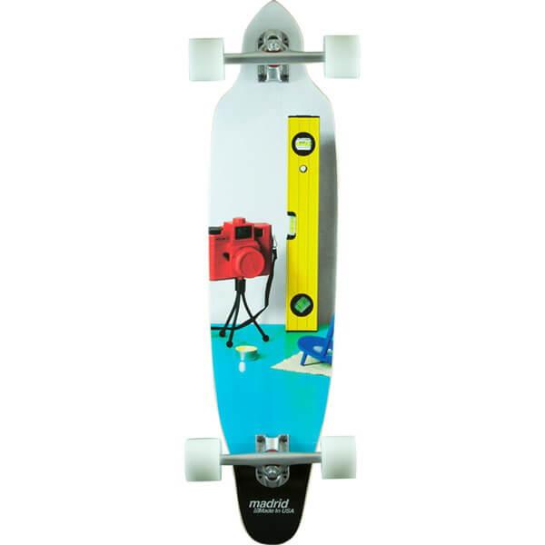 Madrid Stileben Squid Complete Downhill Longboard Skateboard