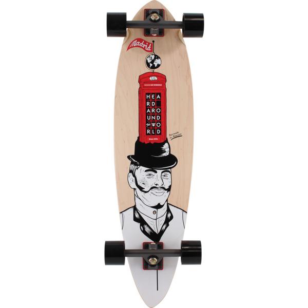 "Madrid Skateboards Blunt TM Gentleman Cruiser Complete Skateboard - 9.5"" x 36.25"""