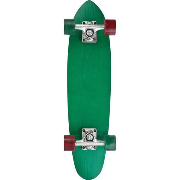 "Makaha Skateboards Rocker Yellow / Green Cruiser Complete Skateboard - 6.5"" x 27"""