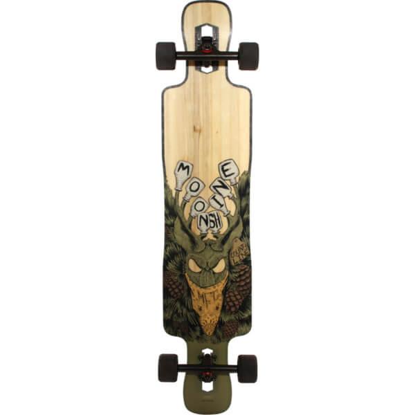 "Moonshine MFG County Line Soft Longboard Complete Skateboard - 9.5"" x 43.75"""