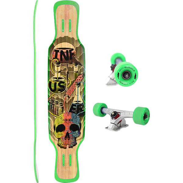 "Moonshine MFG 2018 Infuser Longboard Complete Skateboard - 9"" x 44"""
