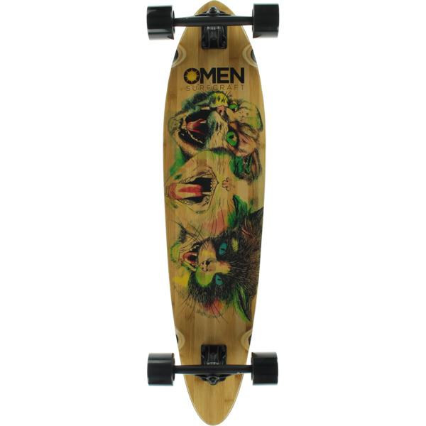 """Omen Boards Love Katz Longboard Complete Skateboard - 9.1"""" x 38"""""""