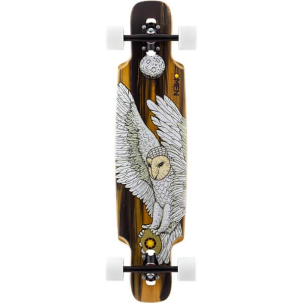 Omen Boards Messenger Longboard Complete Skateboard 8 5