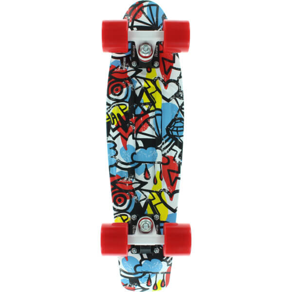 """Penny Skateboards Comic Fusion 22"""" Complete"""