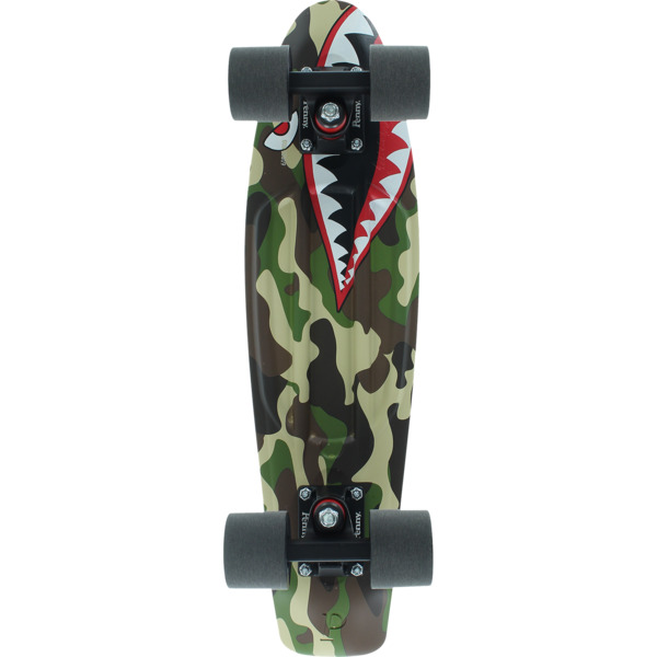 "Penny Skateboards Sharkbomber Cruiser Complete Skateboard - 6"" x 22"""