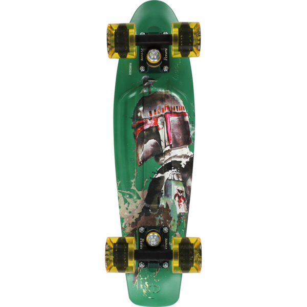"Penny Skateboards Star Wars Boba Fett 22 Cruiser Complete Skateboard - 6"" x 22"""