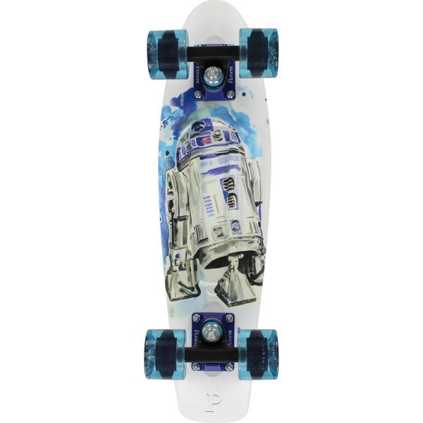 "Penny Skateboards Star Wars R2D2 22 Cruiser Complete Skateboard - 6"" x 22"""