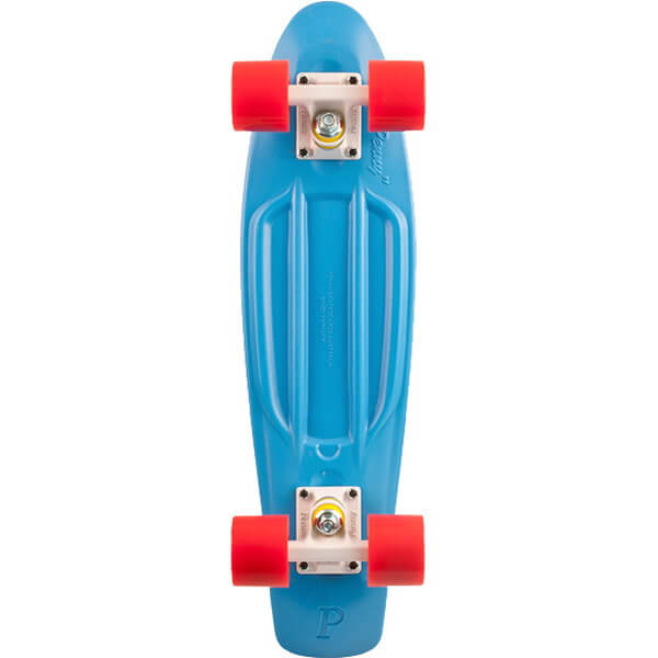 """Penny Skateboards Cyan Red 22"""" Complete"""