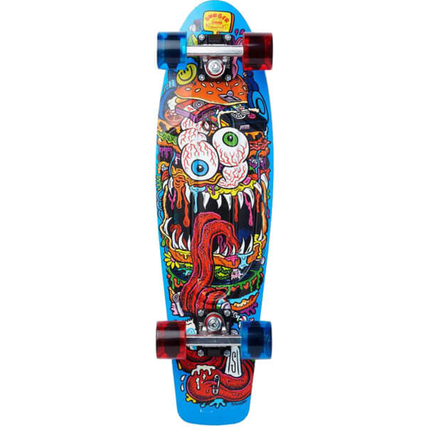 "Penny Skateboards Burger Monster 27 Cruiser Complete Skateboard - 7.5"" x 27"""