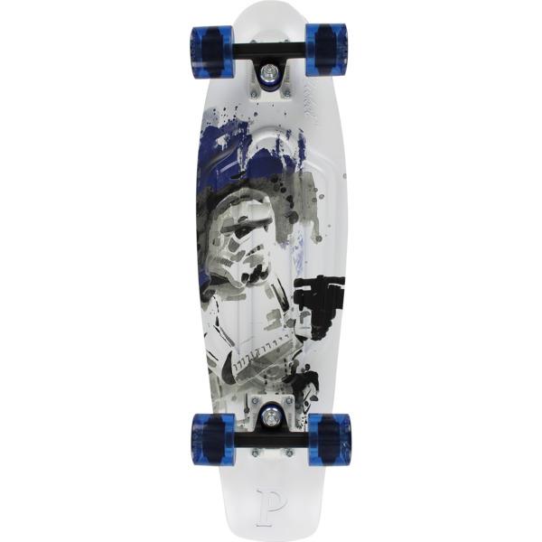 "Penny Skateboards Star Wars Storm Trooper 27 Cruiser Complete Skateboard - 7.5"" x 27"""