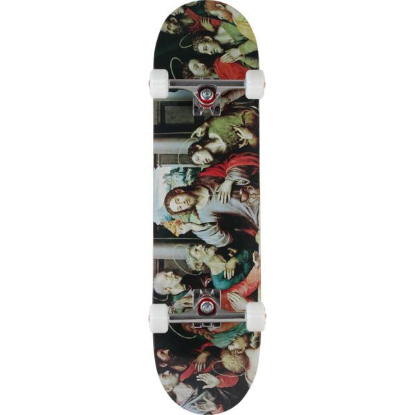 "Pizza Skateboards Last Supper Complete Skateboard - 8.25"" x 31.75"""