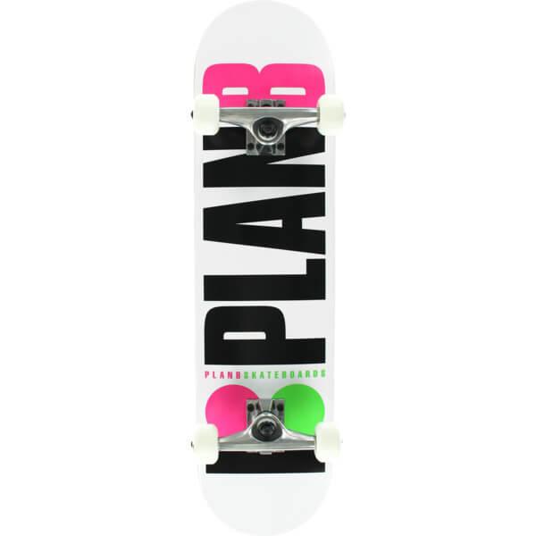 Plan B Skateboards B OG Neon Complete