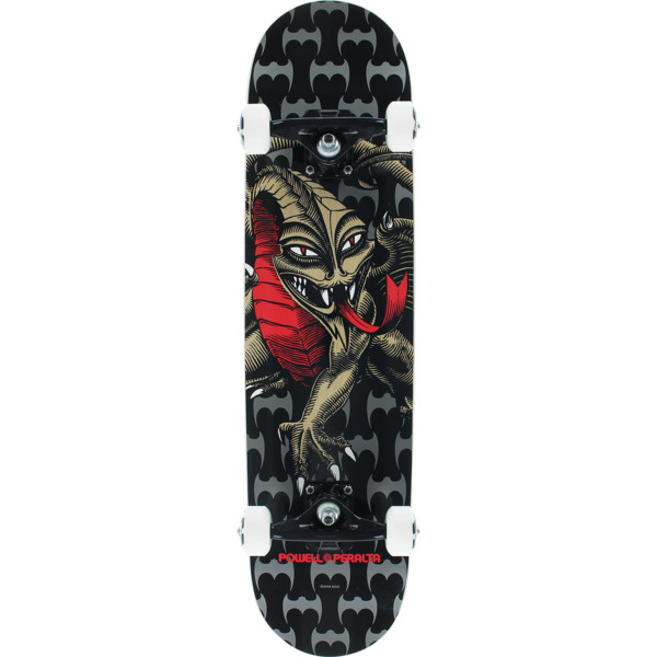"Powell Peralta Steve Caballero Dragon Black / Natural / Red Complete Skateboard - 7.75"" x 31.75"""