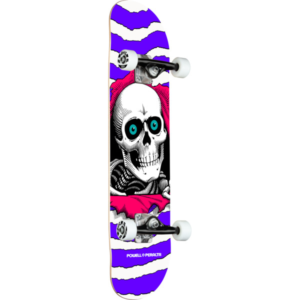 "Powell Peralta Ripper Purple Complete Skateboard - 7.75"" x 31"""