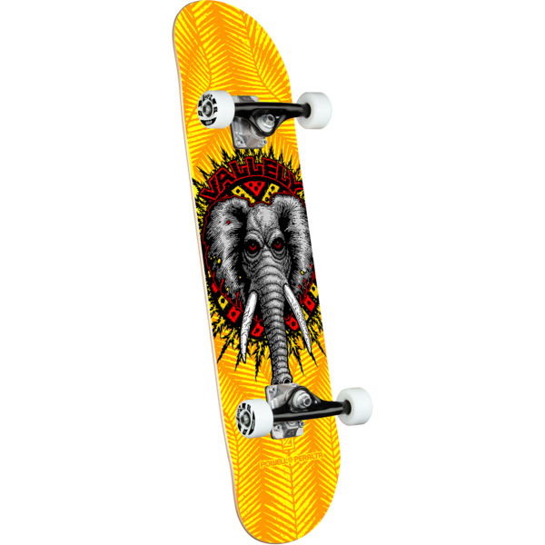 """Powell Peralta Mike Vallely Elephant Yellow Complete Skateboard - 8"""" x 31.45"""""""