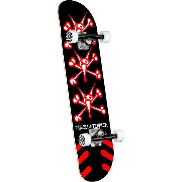 "Powell Peralta Vato Rats Black Complete Skateboard - 8.25"" x 31.95"""