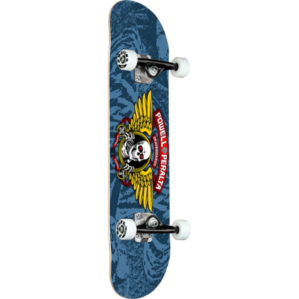 "Powell Peralta Winged Ripper Blue Complete Skateboard - 8"" x 31.75"""