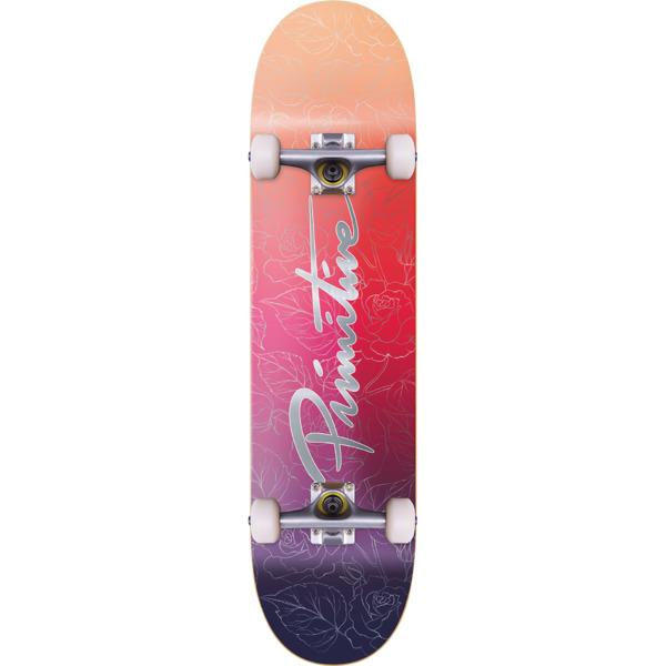 """Primitive Skateboarding Nuevo Daybreak Complete Skateboard - 8.12"""" x 32"""""""