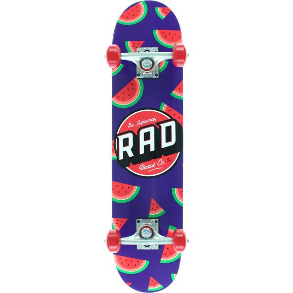 "RAD Wheels Melon Mini Complete Skateboard - 7.25"" x 30"""