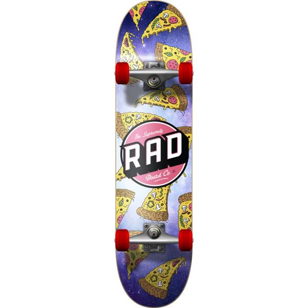 "RAD Wheels Pizza Galaxy Mid Complete Skateboards - 7.5"" x 31"""