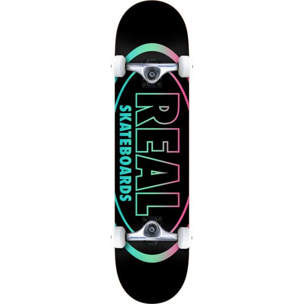 "Real Skateboards Oval Gleam Complete Skateboard - 7.75"" x 32"""