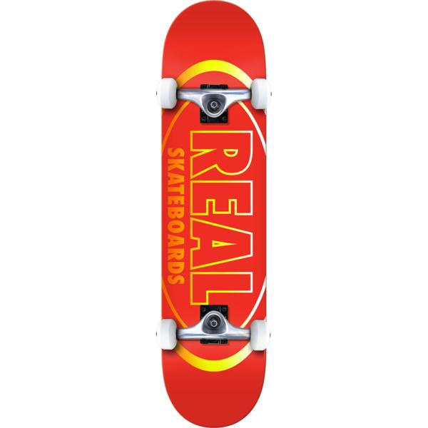 "Real Skateboards Oval Gleam Complete Skateboard - 8"" x 32"""