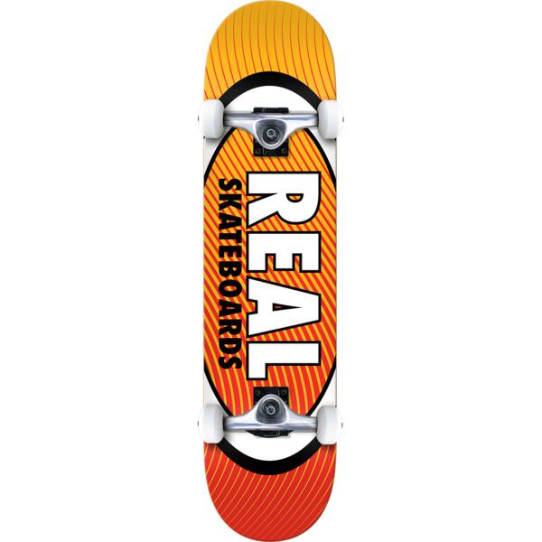 """Real Skateboards Oval Heatwave Complete Skateboard - 7.75"""" x 32"""""""