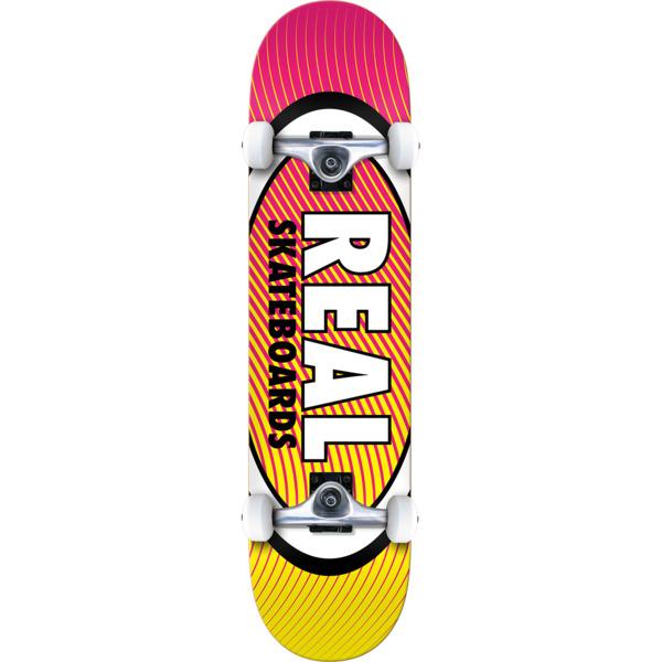 """Real Skateboards Oval Heatwave Complete Skateboard - 8.25"""" x 32"""""""