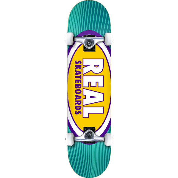 "Real Skateboards Oval Rays Complete Skateboard - 8.25"" x 32"""