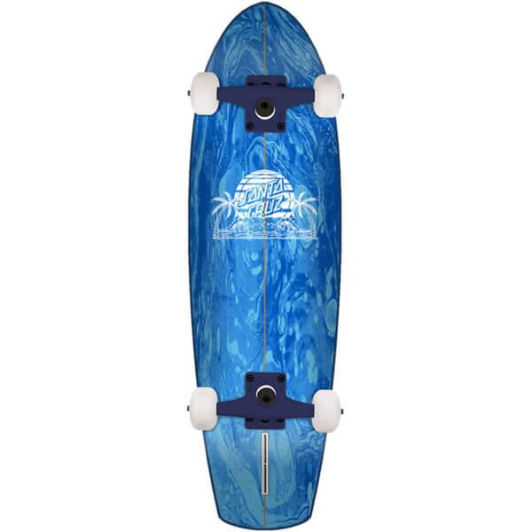 Santa Cruz Skateboards A Frame Street Shark Cruiser Complete Skateboard