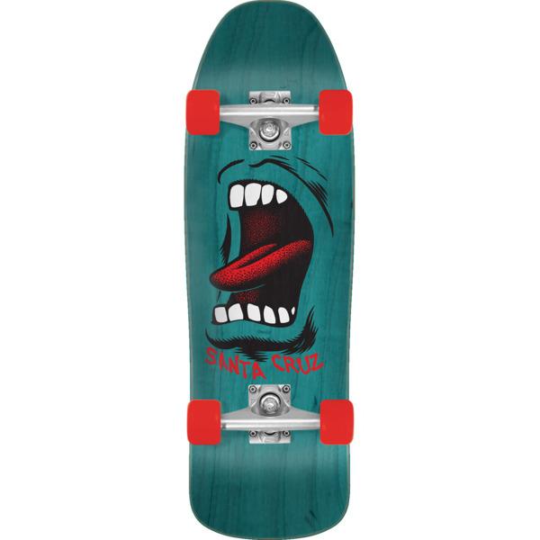 "Santa Cruz Skateboards Big Mouth 80's Cruzer Complete Skateboard - 9.35"" x 31.7"""